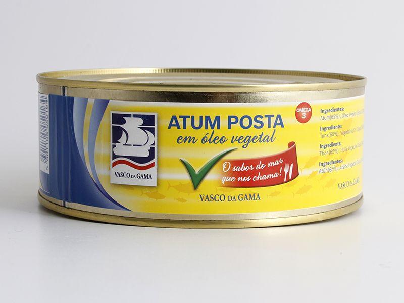 Atum Posta em Óleo Vegetal Vasco da Gama 785g e8c36a4dbaef6