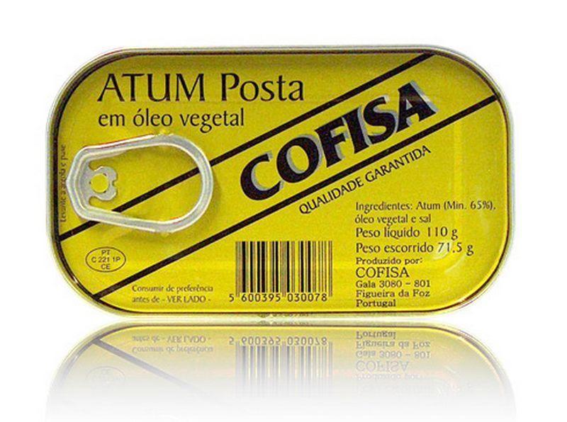 Atum Posta em Óleo Vegetal Cofisa 110g 668f91645f6c7