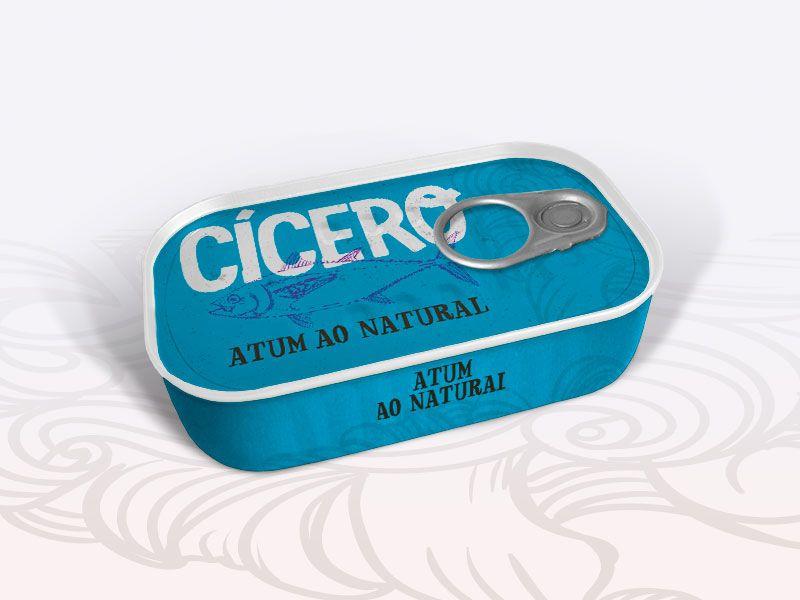 Atum ao Natural 110g Cícero 90df96311caf4